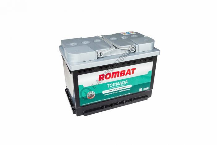 Baterie Auto Rombat Tornada 12 V 80 Ah-big
