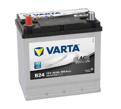 BATERIE AUTO VARTA BLACK 45 Ah borne inverse cod B24 - 5450790303122-big