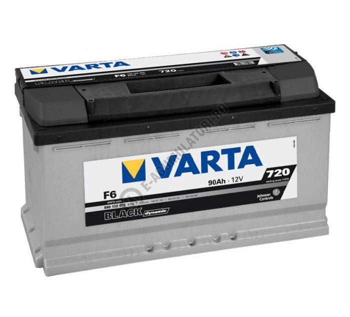 BATERIE AUTO VARTA BLACK 90 Ah cod F6 - 5901220723122-big