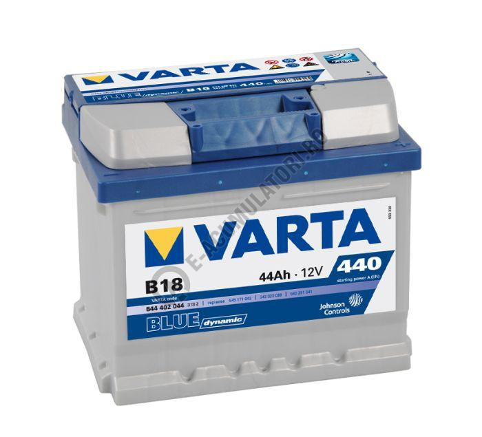 BATERIE AUTO VARTA BLUE 44 Ah cod B18 - 5444020443132-big
