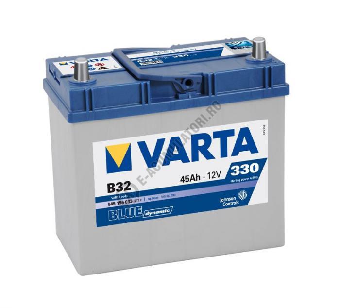 BATERIE AUTO VARTA BLUE 45 Ah cod B32 - 5451560333132-big