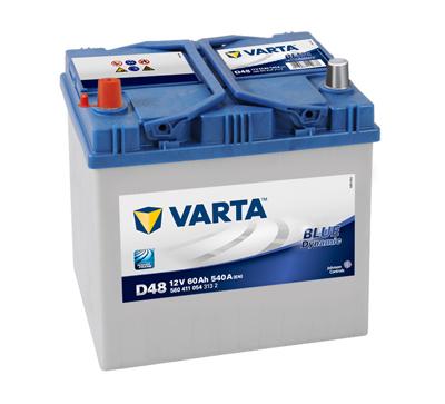 BATERIE AUTO VARTA BLUE 60 Ah borne inverse cod D48 - 5604110543132-big