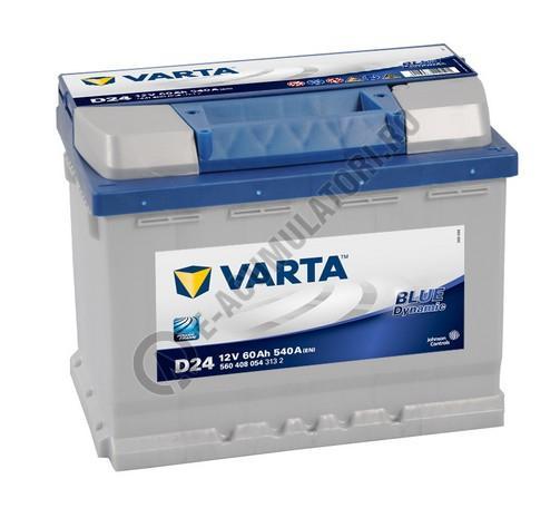 BATERIE AUTO VARTA BLUE 60 Ah cod D24 - 5604080543132-1-big
