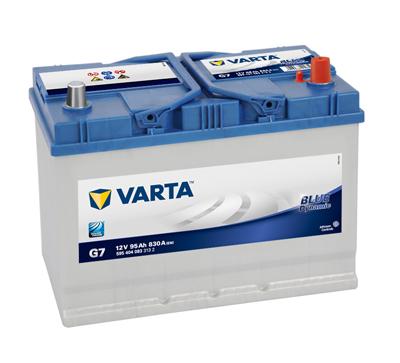 BATERIE AUTO VARTA BLUE 95 Ah cod G7 - 5954040833132-big