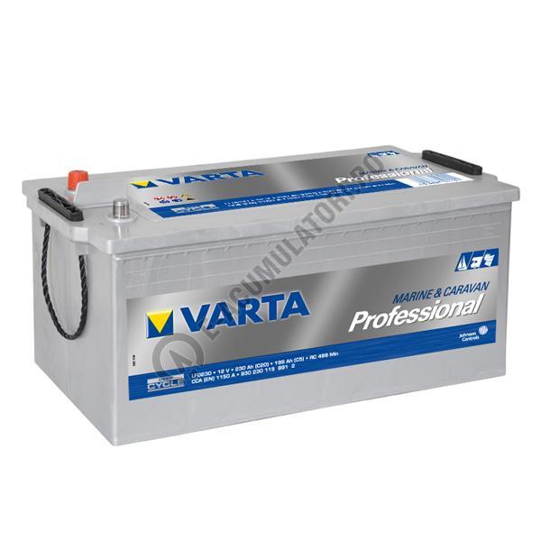BATERIE AUTO VARTA PROFESSIONAL Dual Purpose 230 Ah cod LFD230 - 930230115B912-big