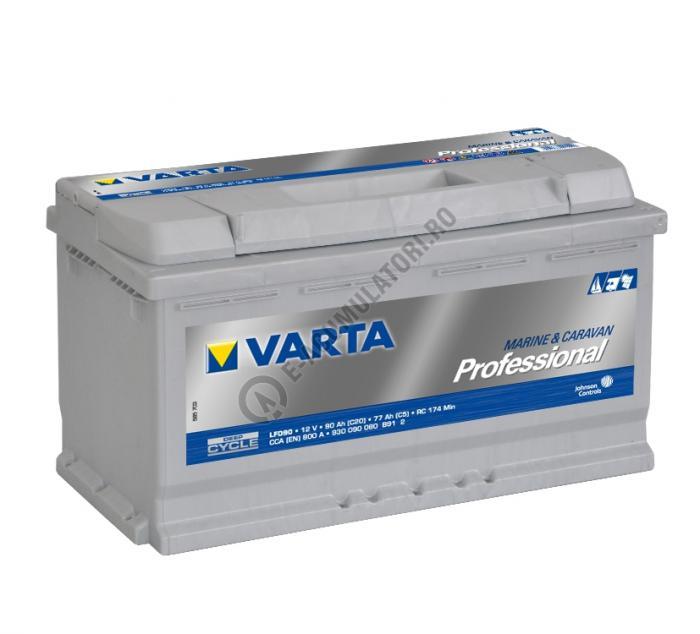 BATERIE AUTO VARTA PROFESSIONAL 90 Ah cod LFD90 - 930090080B912-big