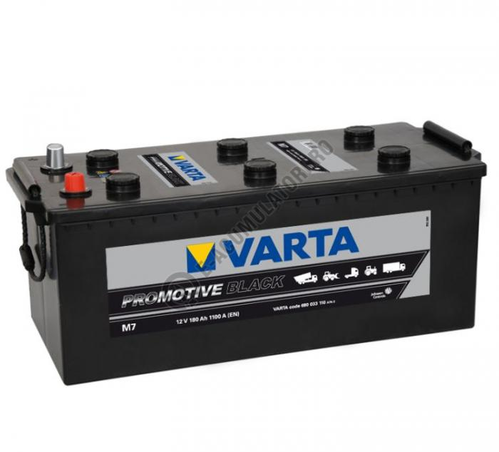 BATERIE AUTO VARTA PROMOTIVE BLACK 180 Ah cod M7 - 680033110A742-big