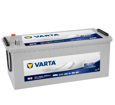 BATERIE AUTO VARTA PROMOTIVE BLUE 170 Ah cod M8 - 670103100A732-big