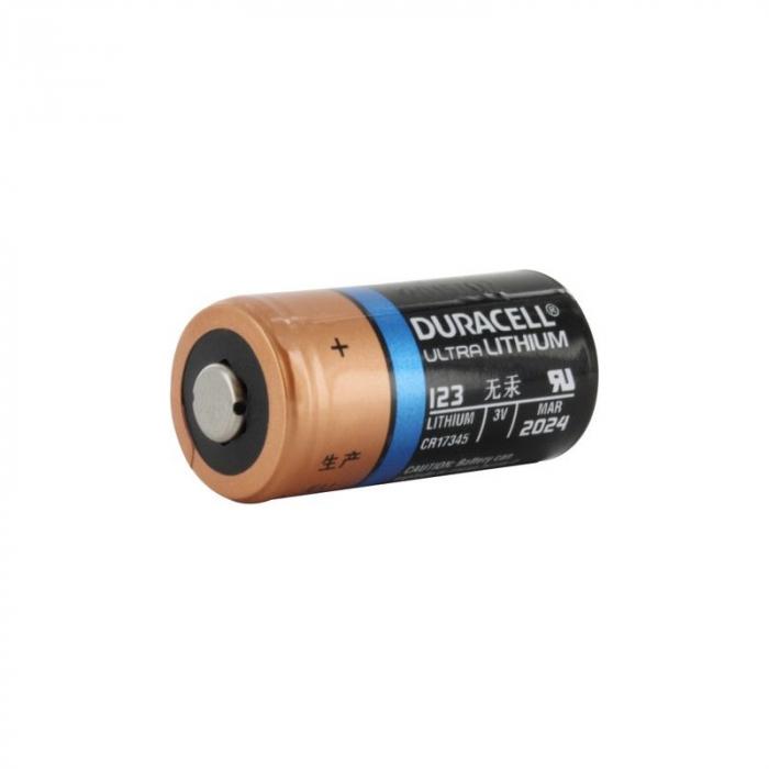 Baterie litiu 3V Duracell DL123A / CR123A / EL123A-big