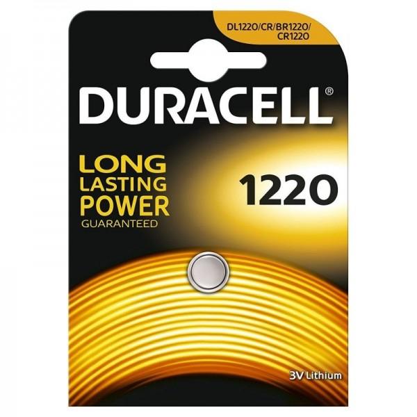 Baterie litiu Duracell DL 1220, 3V, blister 1 buc-big