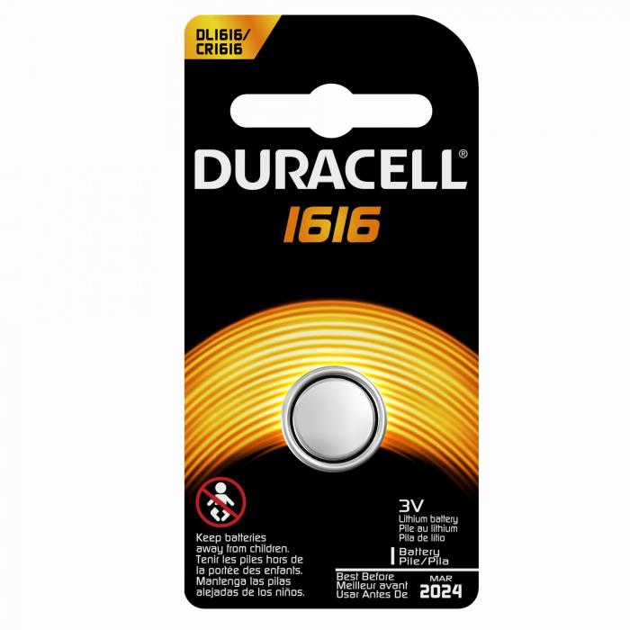 Baterie litiu Duracell DL 1616 3V blister 1 buc-big