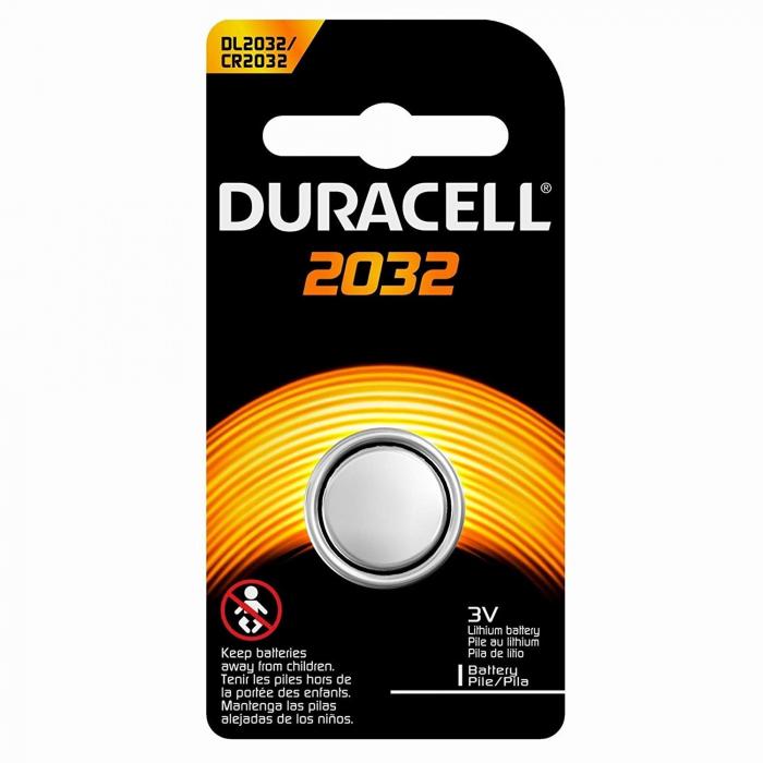 Baterie litiu Duracell DL 2032, 3V, blister 1 buc-big