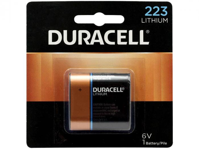 Baterie litiu Duracell DL 223 6V blister 1 buc-big