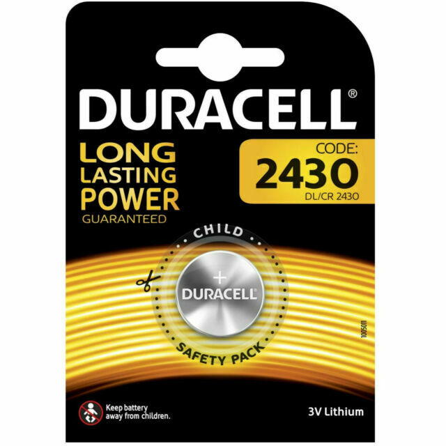 Baterie litiu Duracell DL 2430, blister 1 buc-big