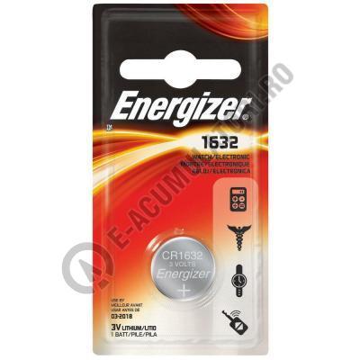 Baterie litiu Energizer CR 1632 3V blister 1 buc-big