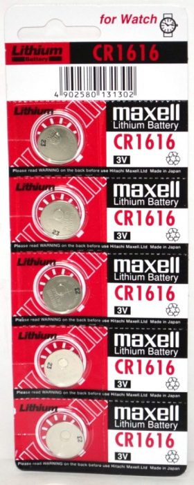 Baterie litiu Maxell CR 1616 blister 5 buc-big
