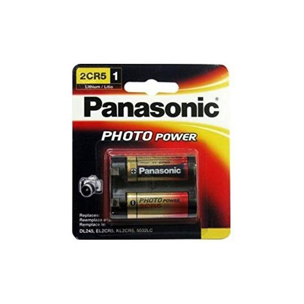 Baterie litiu Panasonic 2CR5 blister 1 buc-big