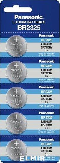 Baterie Litiu Panasonic BR2325  3V  blister 5 buc-big