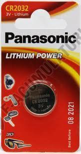 Baterie litiu Panasonic CR 2032 blister 1 buc-big