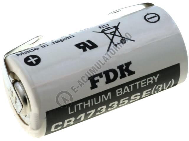 Baterie Litiu Sanyo/FDK CR17335SE-B 3V  1800 mAh cu urechi pentru lipire-big