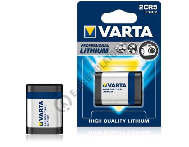 Baterie litiu Varta 2CR5 blister 1 buc-big