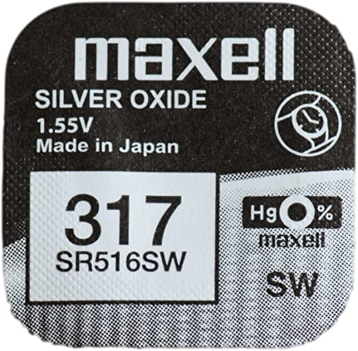 Baterie Maxell 317 SR516SW , blister 1 buc-big