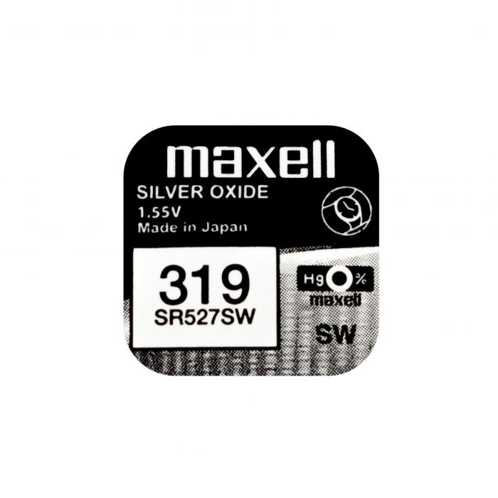 Baterie Maxell 319 SR527SW , blister 1 buc-big