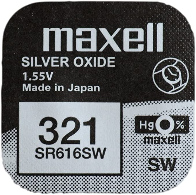 Baterie Maxell 321 SR616SW , blister 1 buc-big