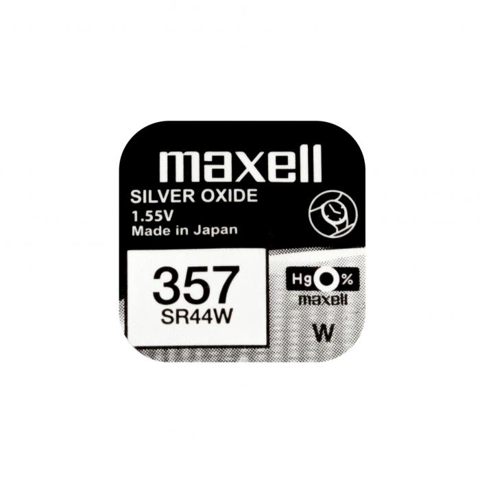 Baterie Maxell 357 SR44W , blister 1 buc-big