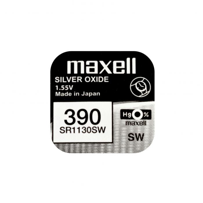 Baterie Maxell 390 SR1130SW , blister 1 buc-big