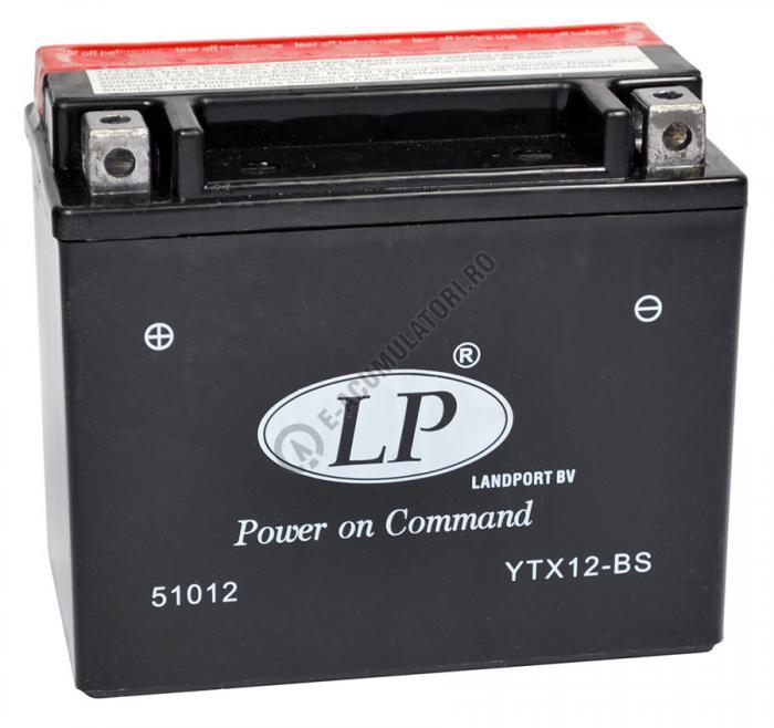 Baterie MOTO LANDPORT AGM 12 V 10 Ah borne inverse YTX12-BS-big