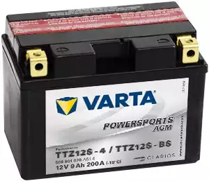 BATERIE MOTO VARTA cu AGM 12 V 9 Ah YTZ12S-BS borne inverse cod 509901020A514-big