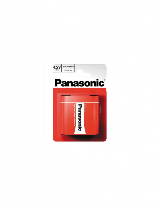 Baterie Panasonic 3R12 special power 4.5V  blister 1 buc-big