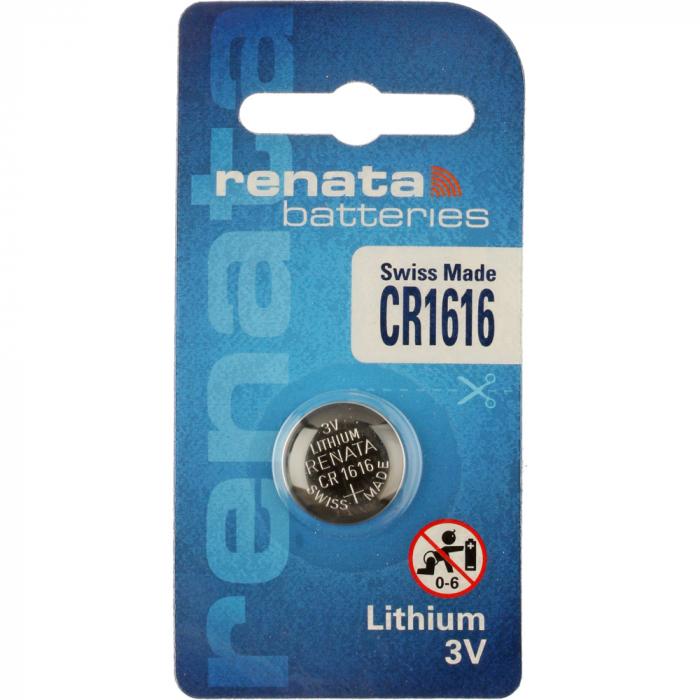 Baterie RENATA Lithium CR1616 BL1-big