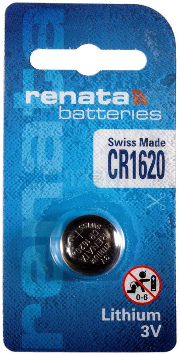 Baterie RENATA Lithium CR1620 BL1-big