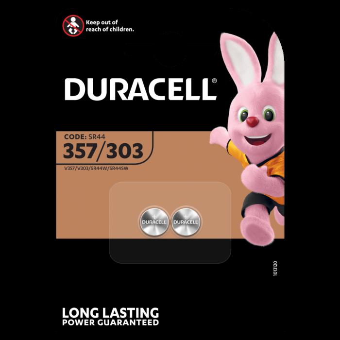 Baterie silver Duracell D 357-303, blister 2 buc-big