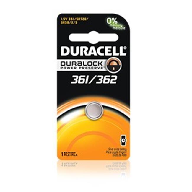 Baterie silver Duracell D 362 / 361, blister 1 buc-big