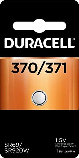 Baterie silver Duracell D 371 / 370, blister 1 buc-big