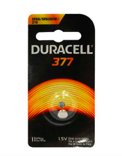 Baterie silver Duracell D 377, blister 1 buc-big