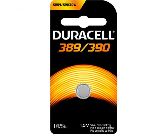 Baterie silver Duracell D 389 / 390, blister 1 buc-big