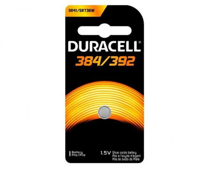 Baterie silver Duracell D 392 / 384, blister 1 buc-big