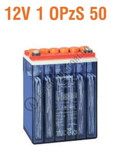 Baterie stationara monoblock Sunlight 12V 1 OPzS 50-big