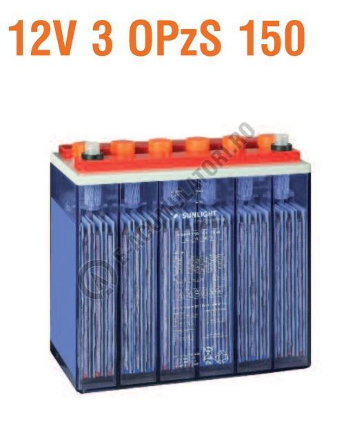 Baterie stationara monoblock Sunlight 12V 3 OPzS 150-big
