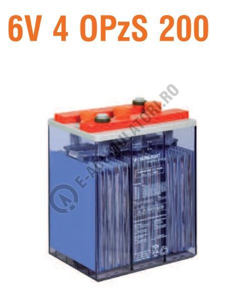 Baterie stationara monoblock Sunlight 6V 4 OPzS 200-big