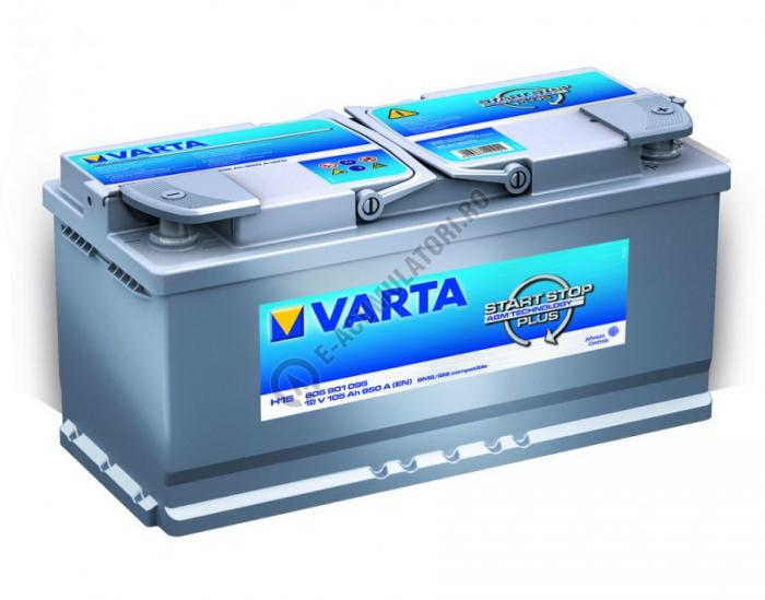 BATERIE VARTA Start Stop Plus AGM 105 Ah cod H15 605901095 D852-big