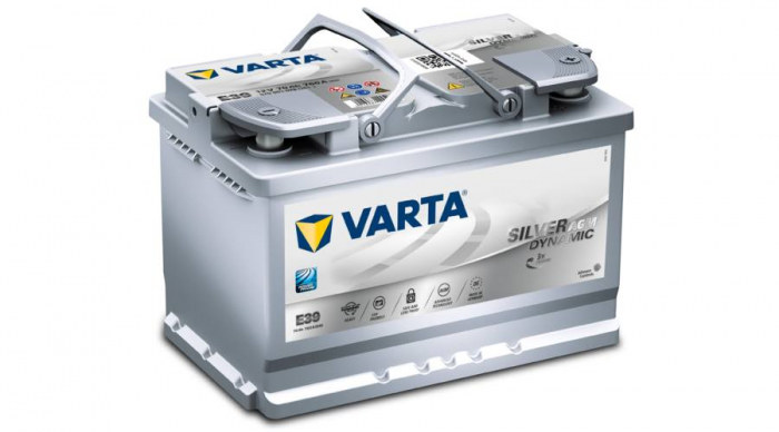 BATERIE VARTA Start Stop AGM 70 Ah cod E39 - 570901076 D852-big