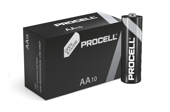 Baterie alcalina Duracell Procell MN1500 AA 10pack-big