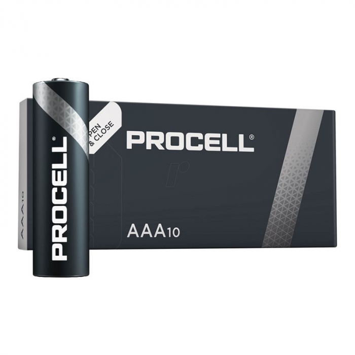 Baterie alcalina Duracell Procell MN2400 AAA 10pack-big