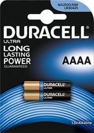 Baterii alcaline Duracell LR61 AAAA blister 2 buc-big