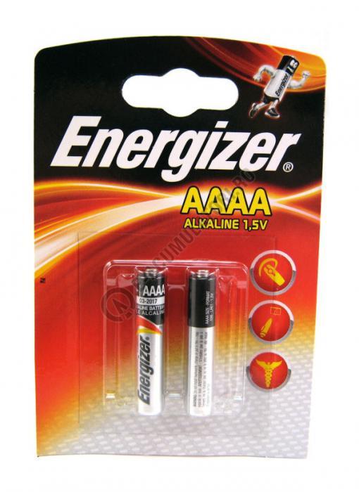 Baterii alcaline Energizer LR61 AAAA blister 2 buc-big